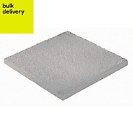 Grey Textured Paving stone (L)450mm (W)450mm, Pallet of 40