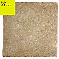 Buff Textured Paving stone (L)450mm (W)450mm, Pallet of 40