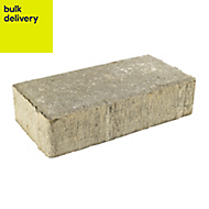Grey Driveway Driveway block (L)200mm (W)100mm, Pallet of 488