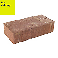 Red Driveway Driveway block (L)200mm (W)100mm, Pallet of 488