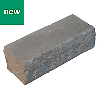 Pitched Grey Double-sided Walling stone (L)215mm (H)63mm (T)63mm, Pack of 202