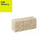 Pitched Double-sided Walling stone (L)215mm (T)90mm, Pack of 202