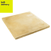 Buff Peak Paving stone (L)600mm (W)600mm, Pallet of 20