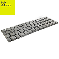Charcoal Carpet Stones Carpet stone Straight Pallet of 30 1.2m (W)400mm