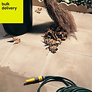 Buff Peak Single paving slab (L)400mm (W)400mm