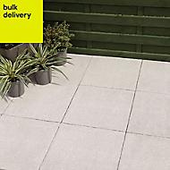 Grey Textured Single paving slab (L)450mm (W)450mm