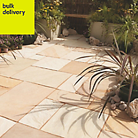 Fossil buff Paving (L)600mm (W)300mm Pack of 85, 16.10 m²