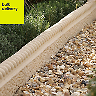 Rustic Rope-top Paving edging Cotswold, (L)600mm (H)50mm Pack of 38