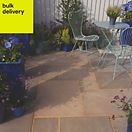Colonial brown Paving (L)600mm (W)600mm Pack of 48, 17.86 m²