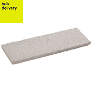 Textured Coping stone Grey, (L)580mm (T)50mm
