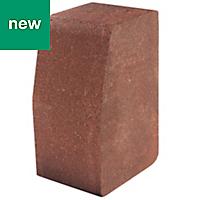 Red Block kerb (L)200mm (W)100mm (T)125mm, Pack of 192