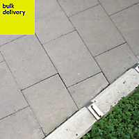 Grey Paving slab (L)900mm (W)600mm, Pack of 11