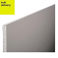 Gyproc Standard Square edge Plasterboard, (L)1.8m (W)0.9m (T)12.5mm