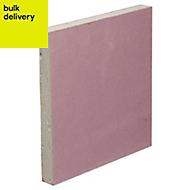 Gyproc Fireline Square edge Plasterboard (L)2400mm (W)1200mm (T)12.5mm