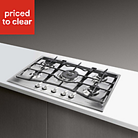 Hotpoint GC751TX 5 Burner Stainless steel Gas Hob, (W)750mm