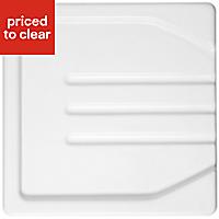 Astracast Butler White Drainer, (W)470mm