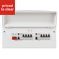 MK 100A 16 way Split load Consumer unit