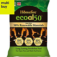 Ecoal Smokeless solid fuel 10kg Pack