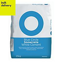 Blue Circle Snowcrete Cement, 25kg Bag
