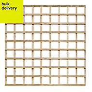 Traditional Timber Square Trellis panel (H)1.83m(W)1.83 m