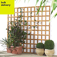 Traditional Timber Square Trellis panel (H)1.83m(W)0.91 m