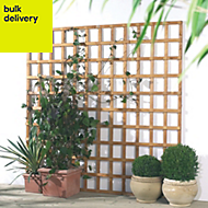 Traditional Timber Square Trellis panel (H)1.83m(W)0.32 m