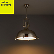 Charly Nickel effect Pendant Ceiling light