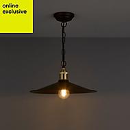 Alfie Bronze effect Pendant Ceiling light