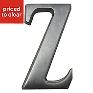 Aluminium 40mm House letter Z