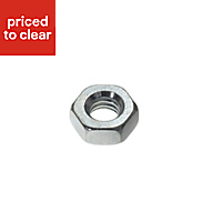 AVF M5 Steel Hex nut, Pack of 10