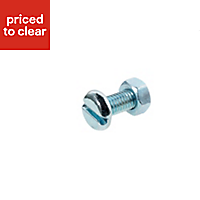 M5 Machine screw (L) 12mm (Dia) 5mm, Pack of 10