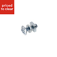 M6 Roofing bolt (L) 20mm (Dia) 6mm, Pack of 10