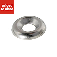 AVF M4 Stainless steel Screw cup washer, Pack of 25