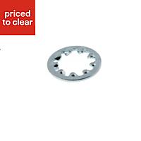 AVF M8 Steel Internal tooth lock washer, Pack of 25