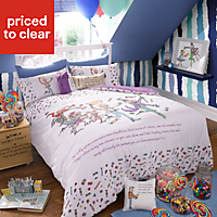 Roald Dahl Multicolour Single Bedding set