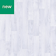 White Oak effect Adhesive required Vinyl tile, 4m²