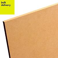 Smooth Softwood Medium-density fibreboard (MDF) Board (L)2.44m (W)1.22m (T)18mm