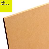 Smooth Softwood Medium-density fibreboard (MDF) Board (L)2.44m (W)1.22m (T)25mm