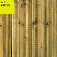 Metsä Wood Nevou Softwood Deck board (T)24mm (W)120mm (L)1800mm