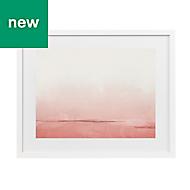 Daydream Pink Framed art (W)530mm (H)430mm