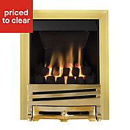 Focal Point Horizon multi flue Brass effect Gas Fire
