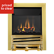 Focal Point Horizon high efficiency Brass effect Gas Fire