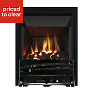 Focal Point Horizon high efficiency Black Gas Fire