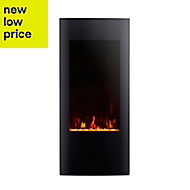 Focal Point Ebony Grand Glass effect Electric Fire