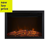 Focal Point Medford Black LED Remote control Electric Fire