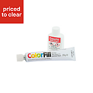 Colorfill Matt white Worktop sealant & repairer
