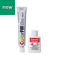 Unika White glitter Matt Worktop sealant & adhesive, 20ml
