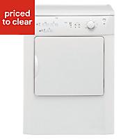 Beko DRVT61W White Freestanding Tumble dryer