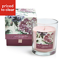 Bloom Rose & hydrangea petal Boxed jar candle