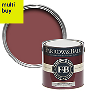 Farrow & Ball Estate Eating room red No.43 Matt Emulsion paint 2.5L